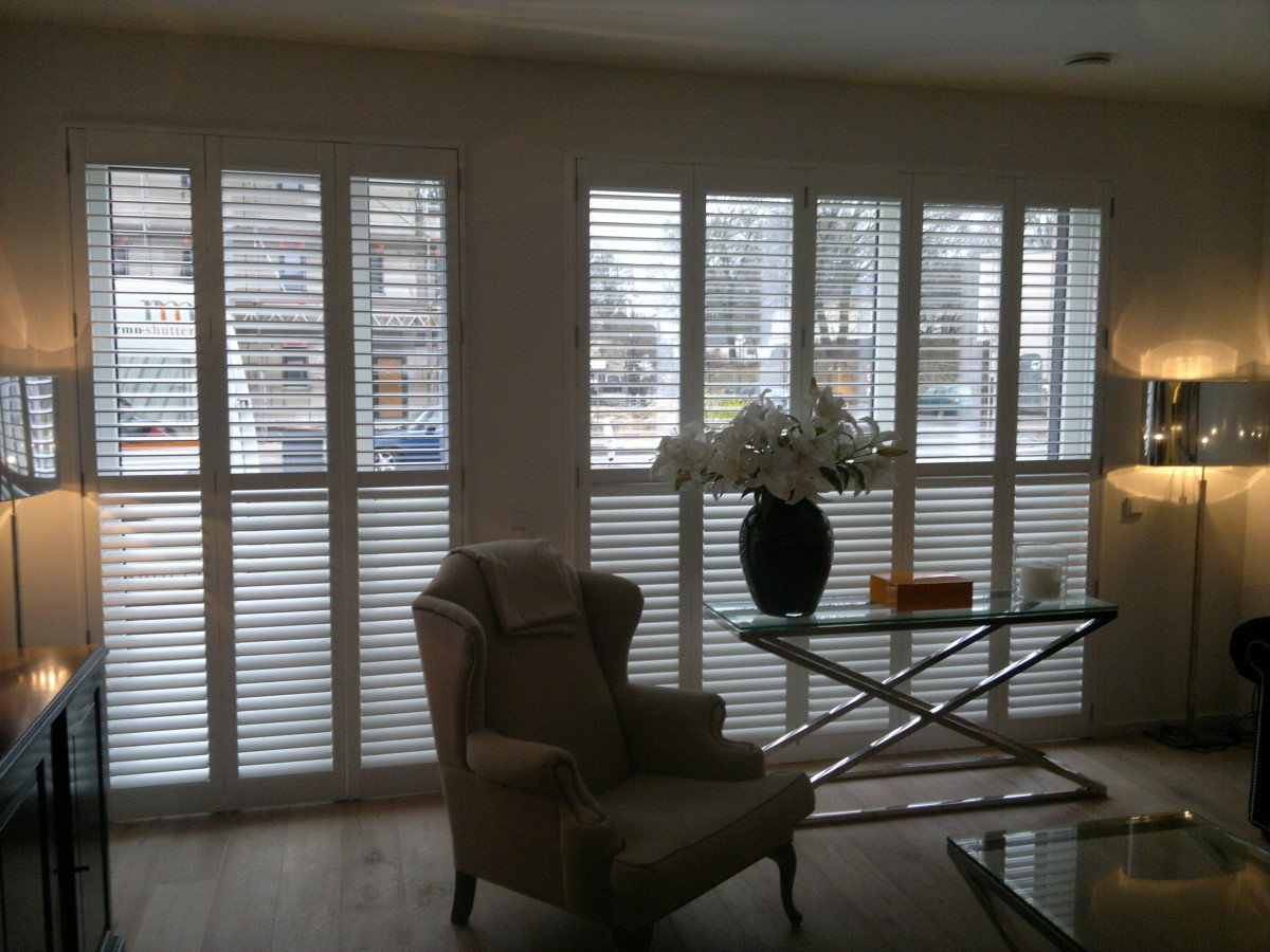 Clear view shutters - RMN Shutters